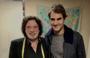 Roger Federer & Meisterschneider Beldono Lucente in Zürich